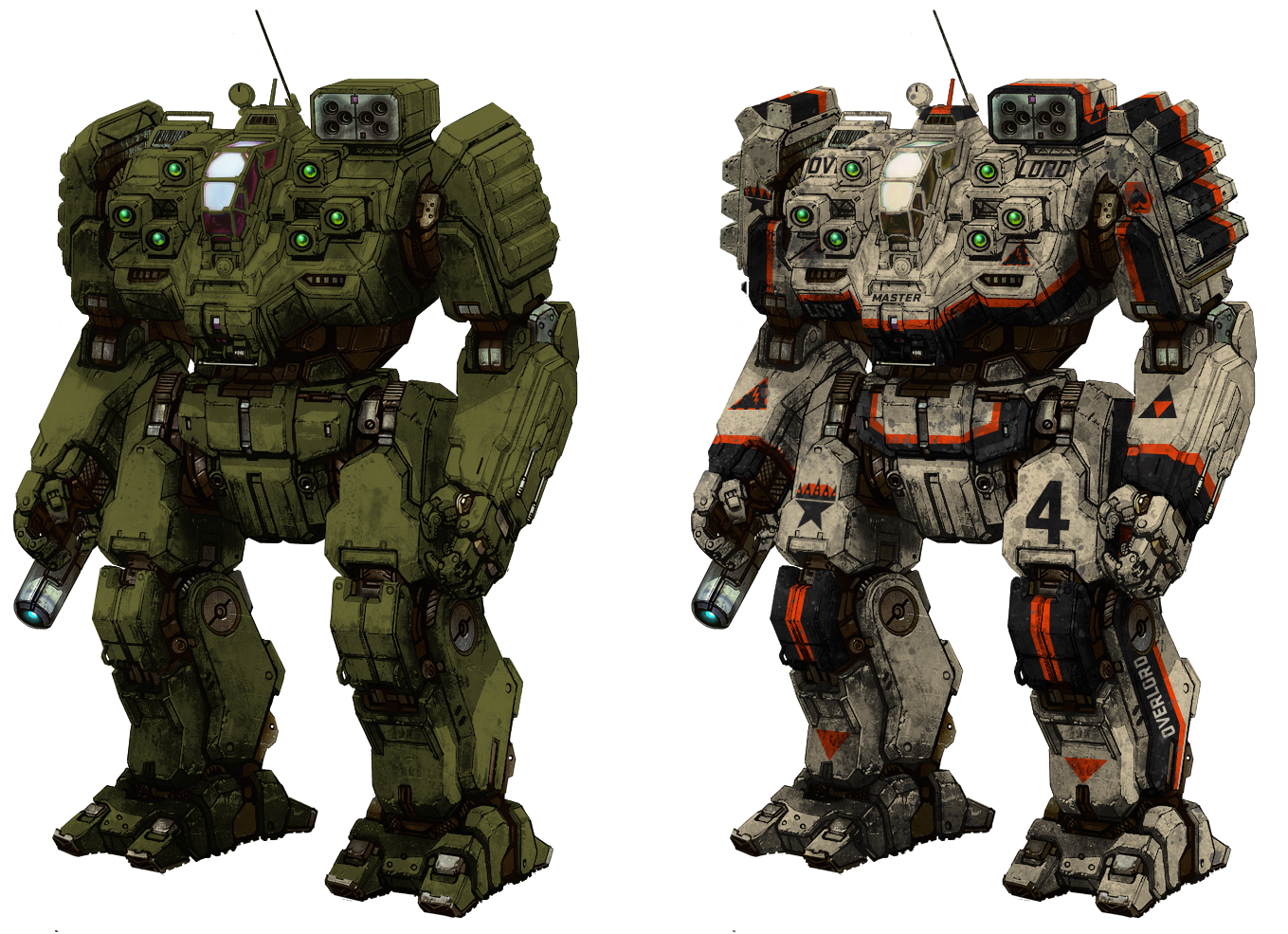 mechwarrior online how to make a build